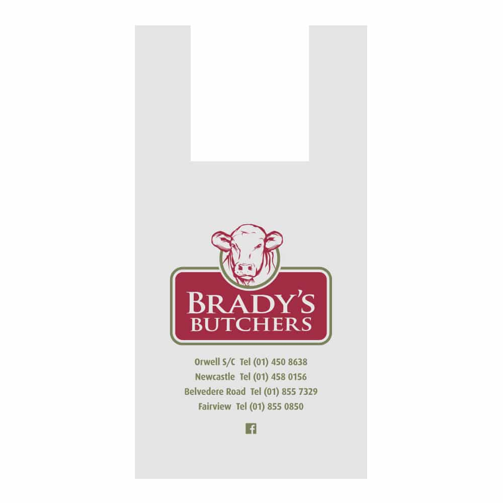 Brady's Butchers bag