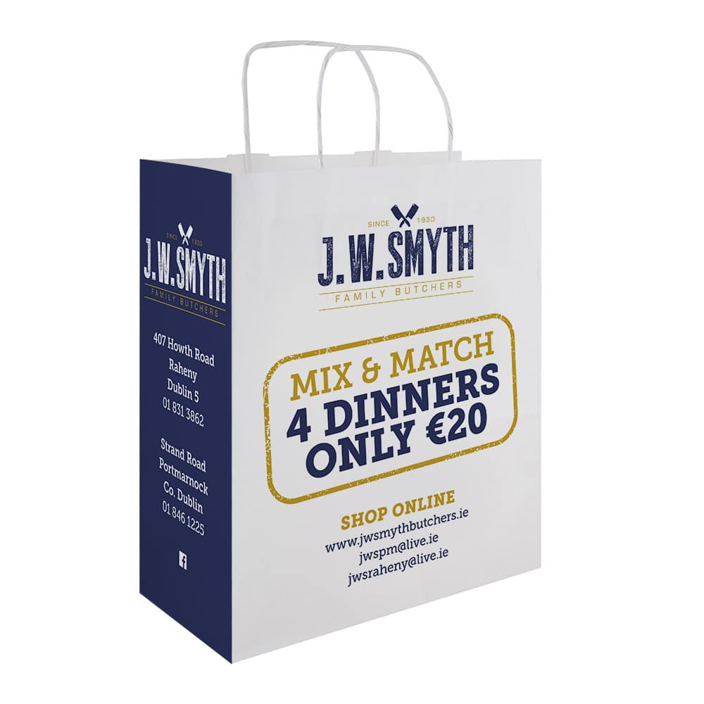 JW Smyth Butchers bag