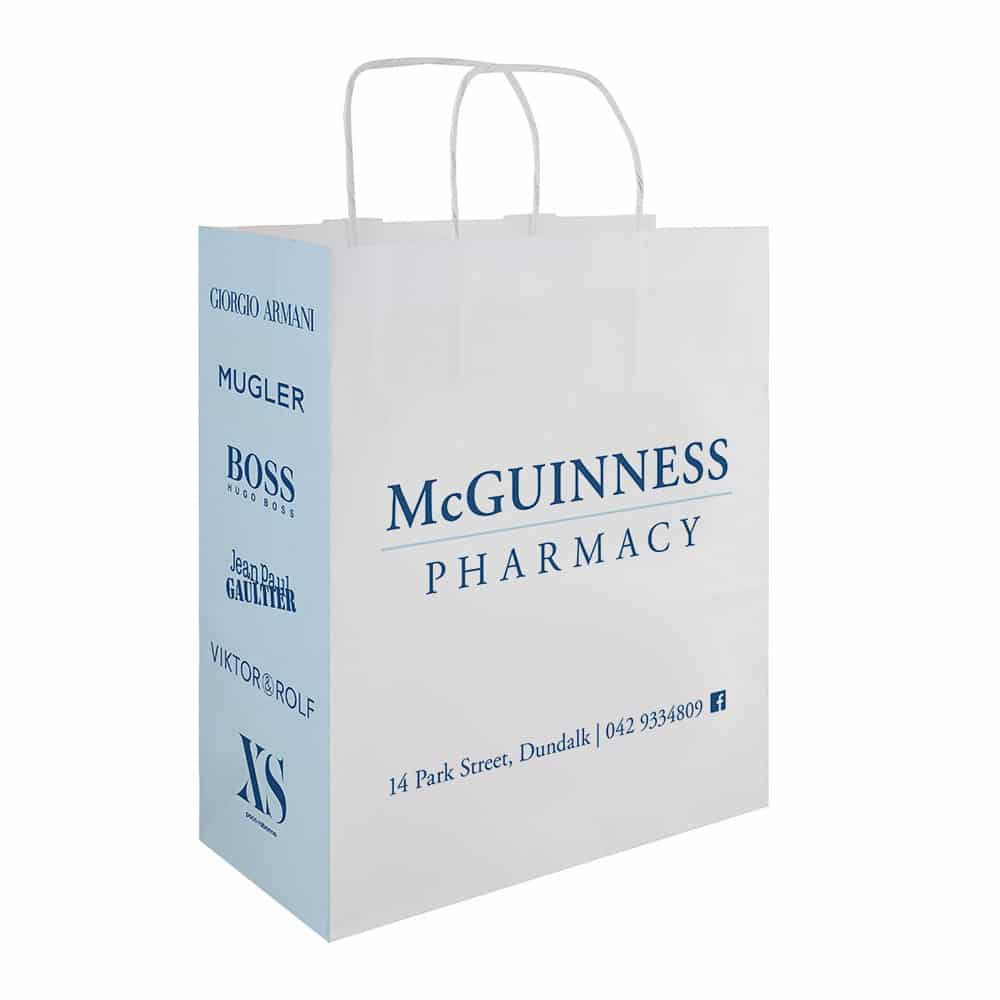 McGuinness Pharmacy | Pharmacy Carrier Bags | Bagprint.ie