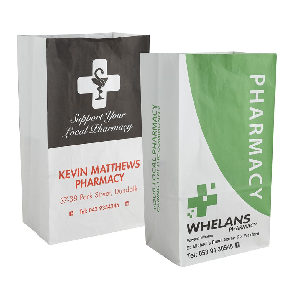 Personalised Pharmacy Bags