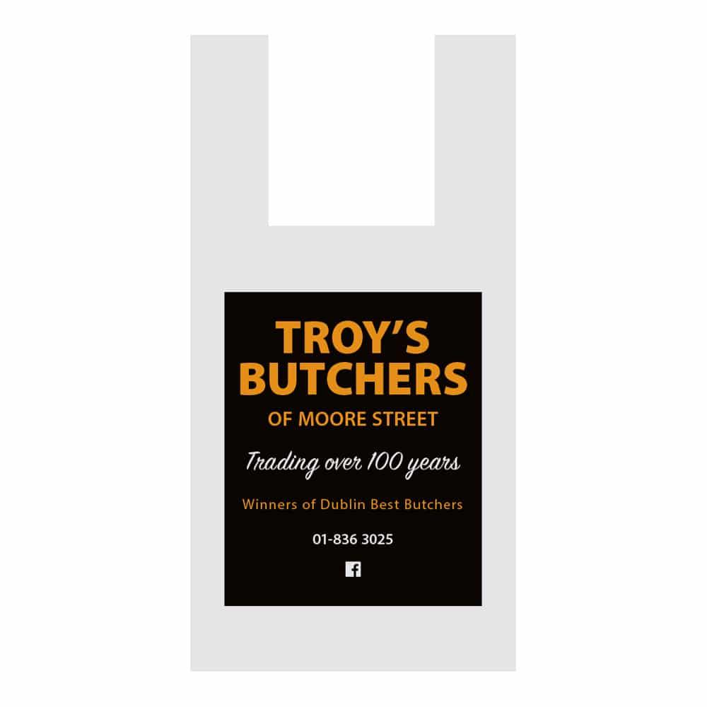 Troy's Butchers bag