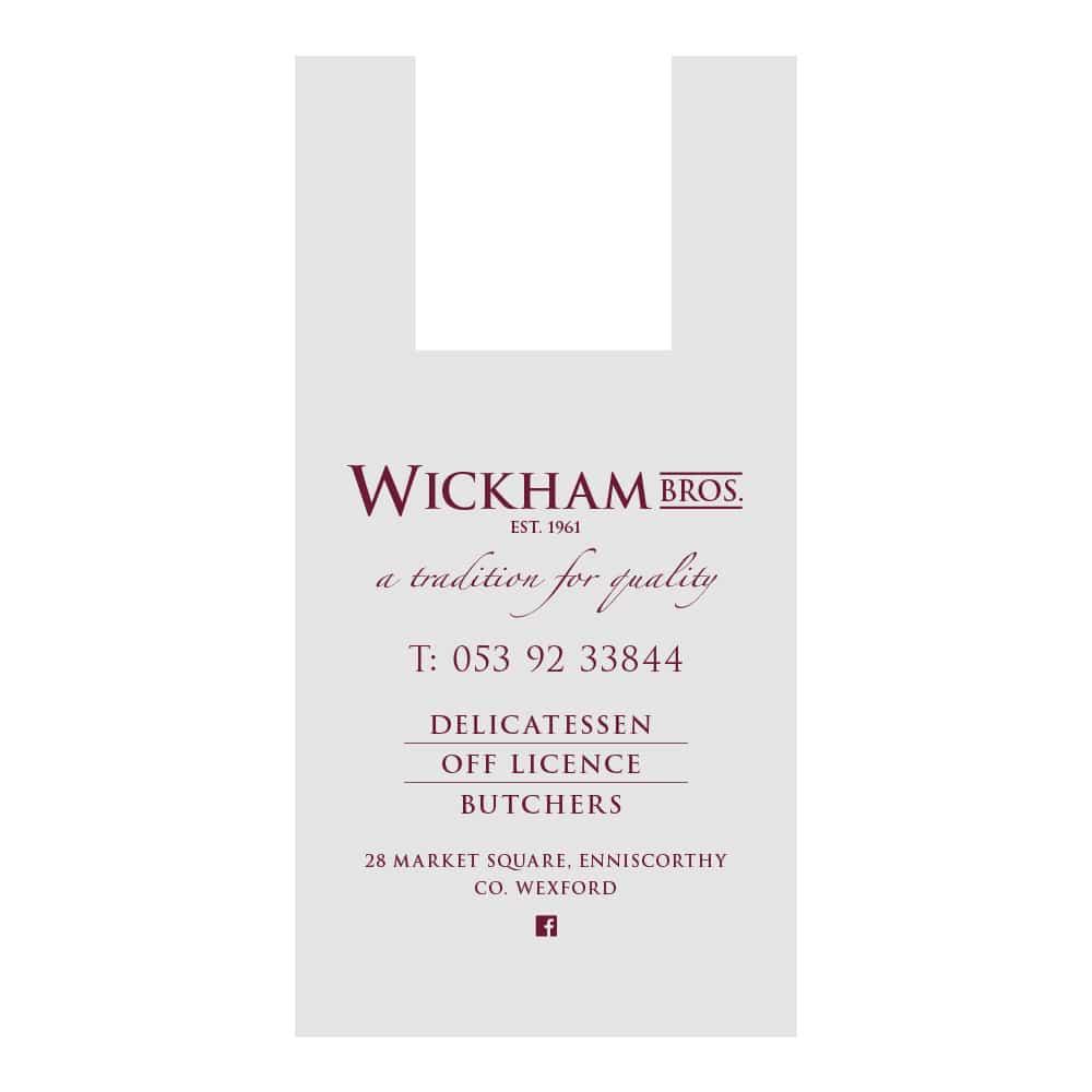 Wickham Bros Butchers bag