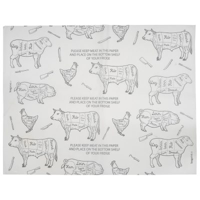 Butchers Greaseproof Paper | Bagprint.ie