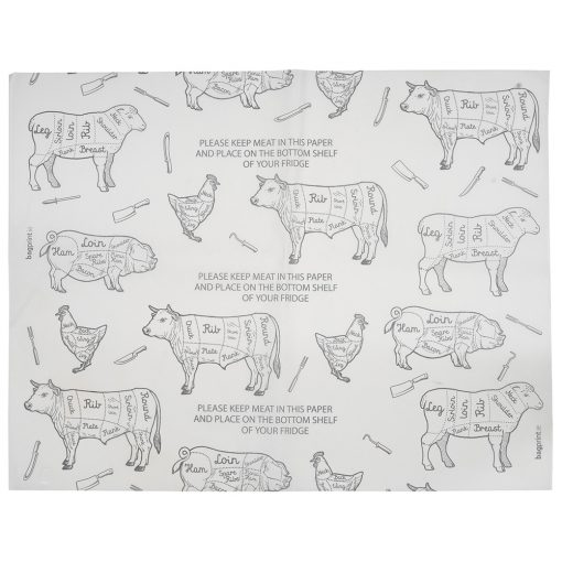 Butchers Greaseproof Paper | Bagprint.ie