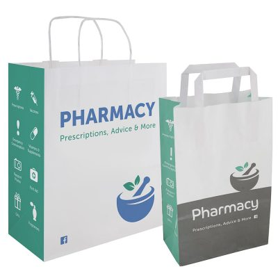 Stock Pharmacy Carrier bags 2019 | Bagprint.ie