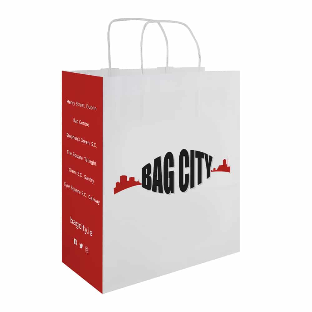 Bag City Carrier Bag | Bagprint.ie