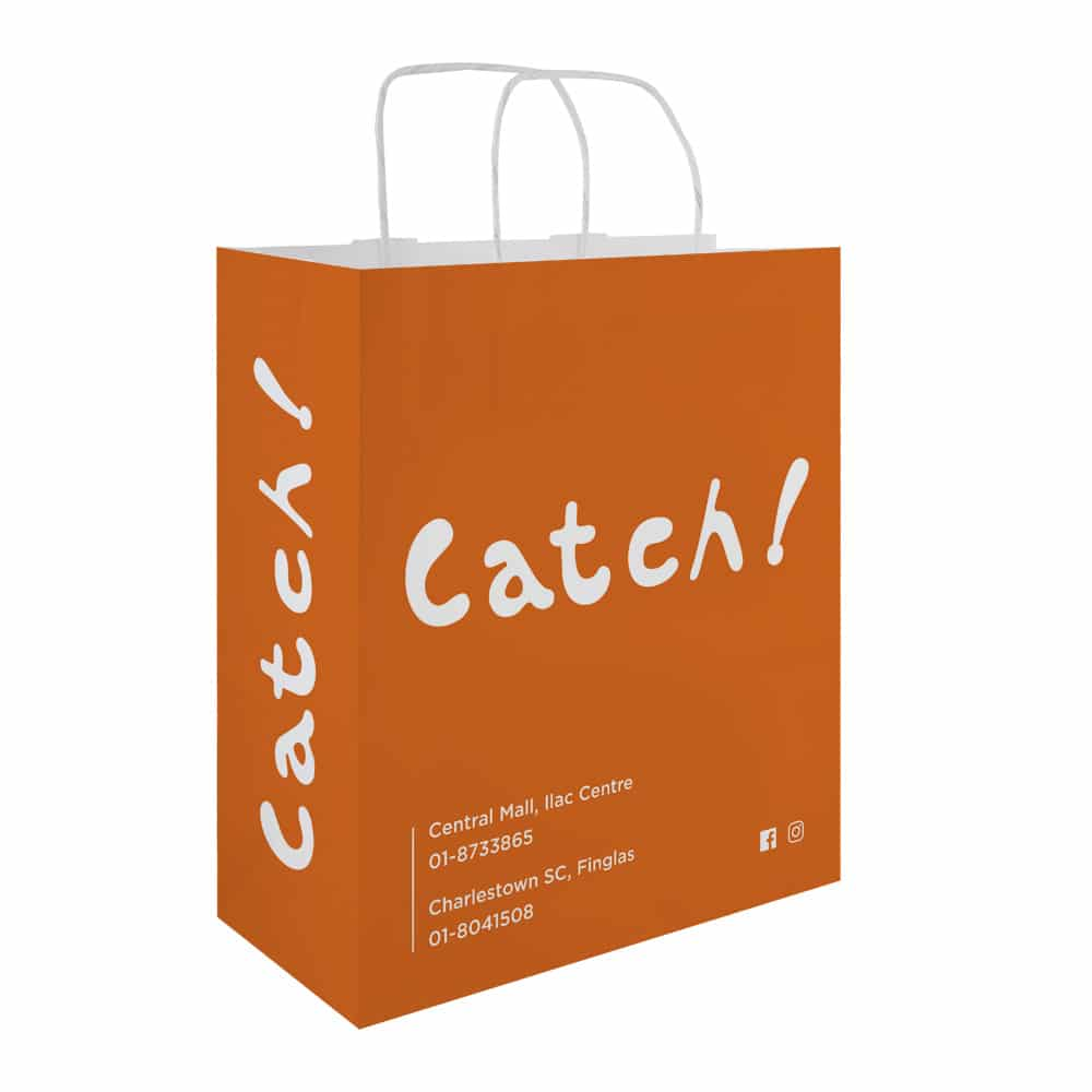 Catch carrier Bag | Bagprint.ie