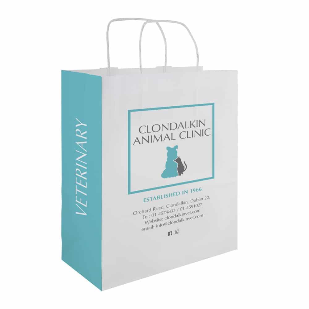 Clondalkin Animal Clinic - Pet Store Bag - Bagprint.ie