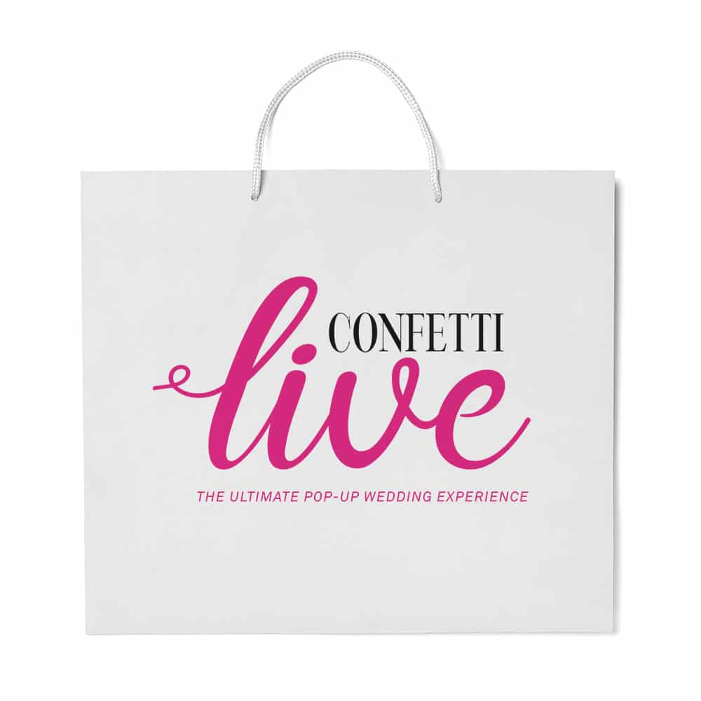 Confetti Live | Branded Luxury Carrier Bags | Bagprint.ie