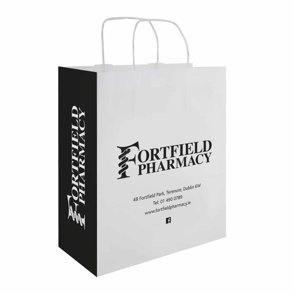 Fortfield Pharmacy | Pharmacy Carrier Bags | Bagprint.ie