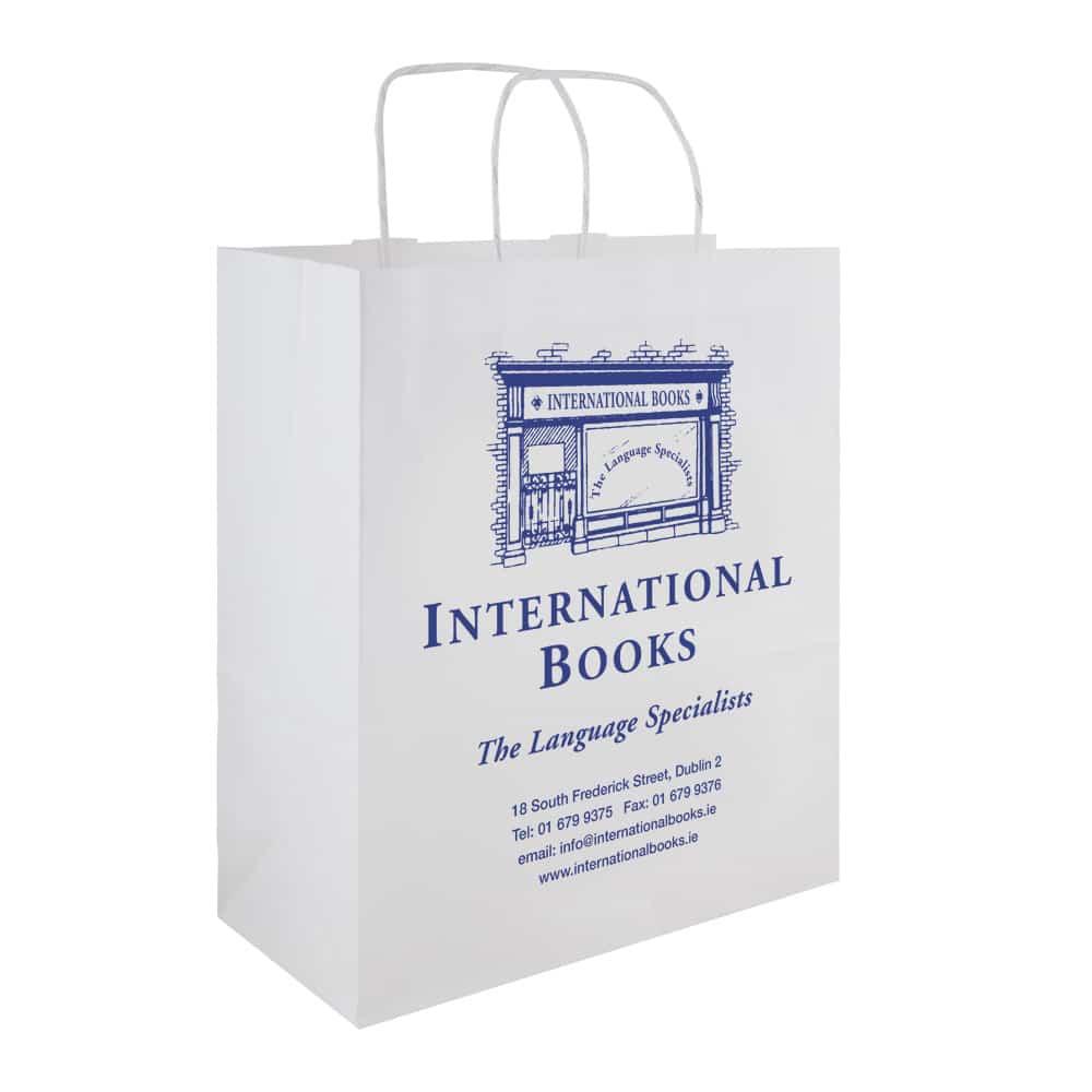 Books Upstairs - Bookshop Bag - Bagprint.ie