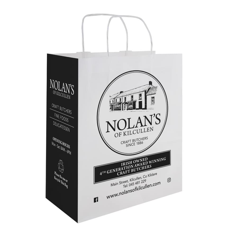 Nolan's | Butchers bag | Bagpint.ie