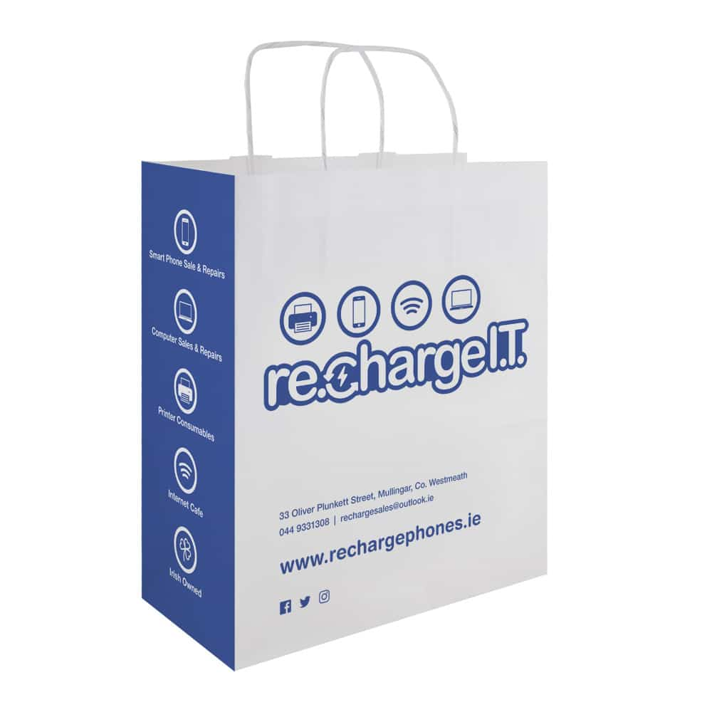 RechargeIT  Bag | Bagprint.ie