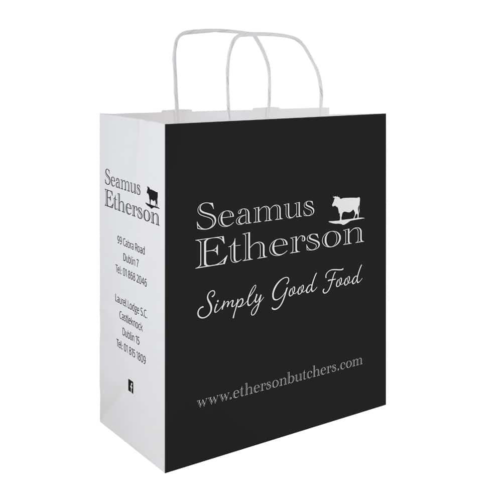 Seamus Etherson Butchers bag