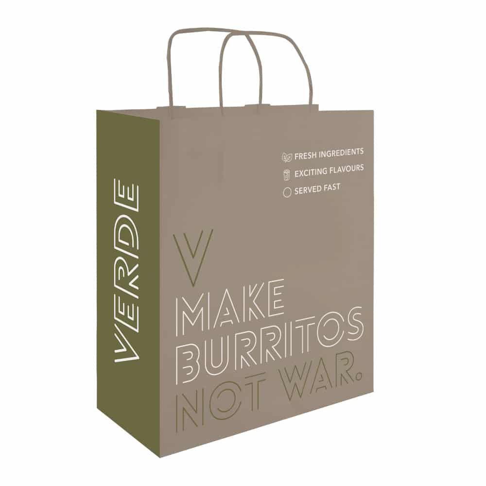 Verde Carrier Bag | Bagprint.ie
